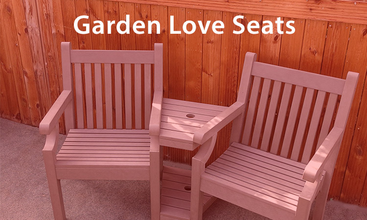 Garden Love Seats Why Choose A Loveseat Bench Alternatives